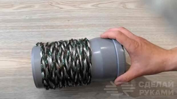 Как сделать прочную веревку из пластиковых бутылок