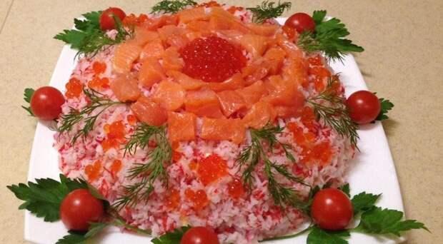 Салат «Уральские самоцветы»: еще один рецепт красивого блюда