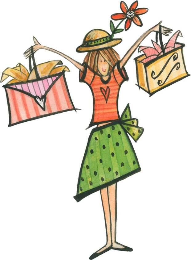 Женщина и покупки