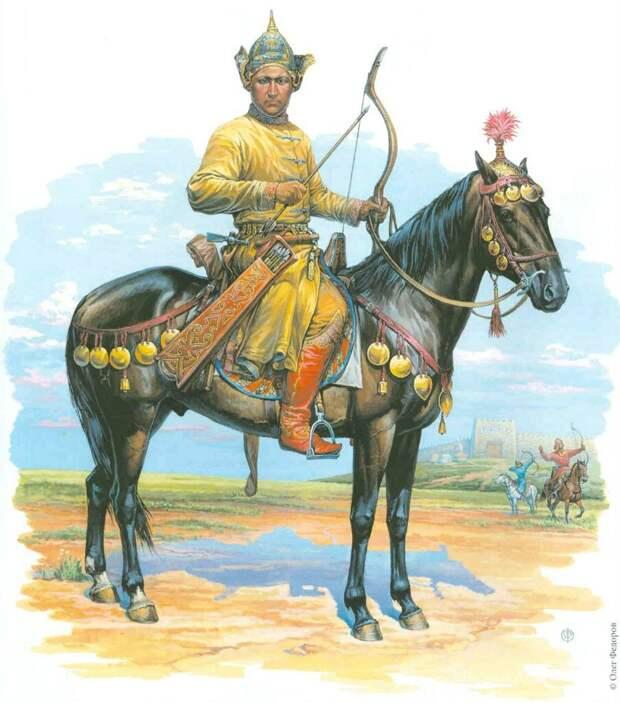 хазарский воин