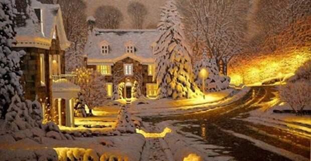 Сказочная зимняя мелодия от Раймонда Паулса. Создает волшебное настроение праздника