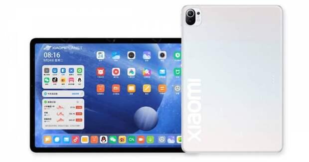 Новый планшет Xiaomi Mi Pad 5 получит двухкомпонентную батарею