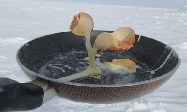 6 фото того, как выглядит еда при -70°C в Антарктиде