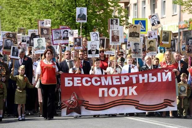 Осквернение идеи «Бессмертного полка России» не может остаться безнаказанным