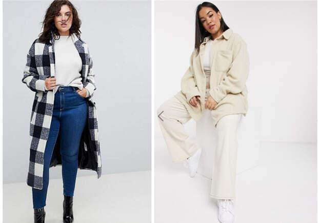 Верхняя одежда для девушек plus-size. Как одеться стильно и удобно