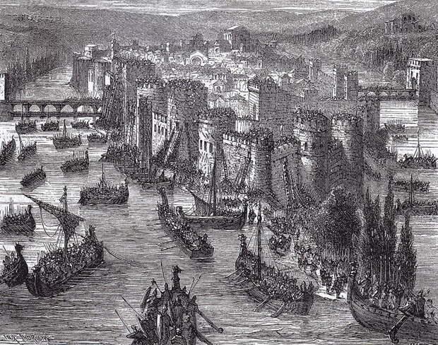 В 885 году викинги чуть было не захватили и Париж