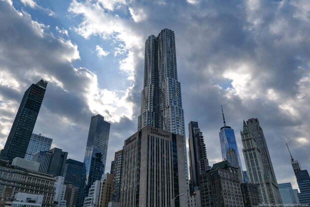 Фотоистория о высотной застройке центра Нью-Йорка