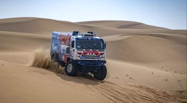 Команда России на КАМАЗах лидирует после первого дня гонки «Дакар-2019»