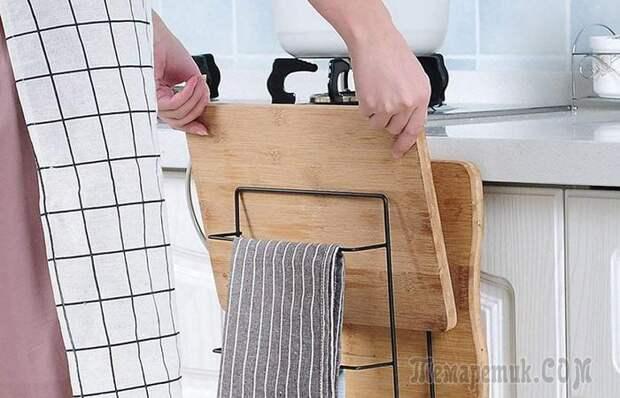 10 полезных хитростей для маленькой кухни, которые позволят все разложить по полочкам