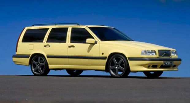 Уникальный универсал Volvo выставлен на торги