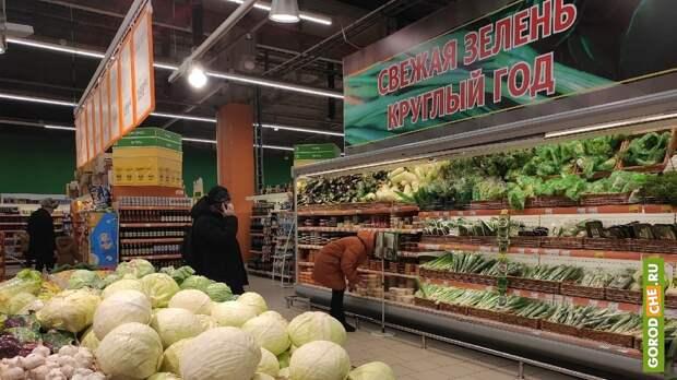 Центробанк: в Вологодской области подешевели огурцы и помидоры