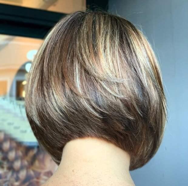 Короткие стрижки вид спереди и сзади для дам 50-60 лет: 18 привлекательных идей