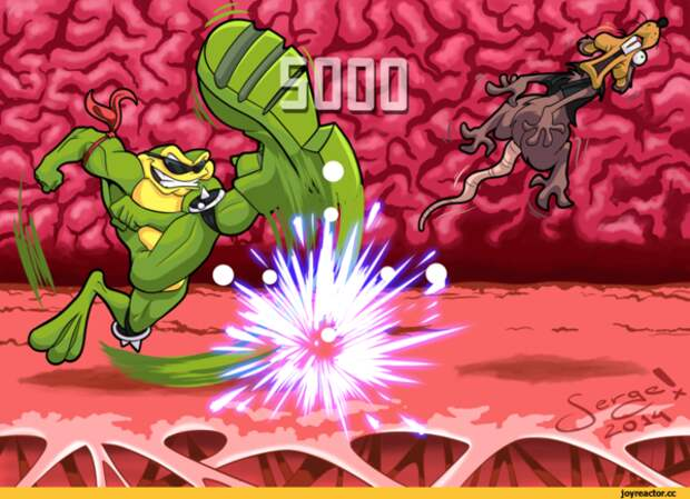 Возвращение легендарных боевых жаб