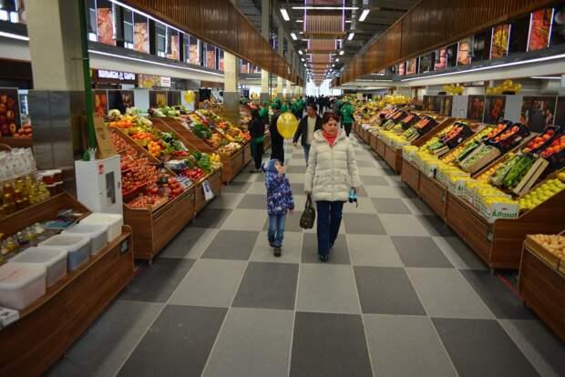 Реконструкция рынка длилась почти год / Фото: Александр Кочубей