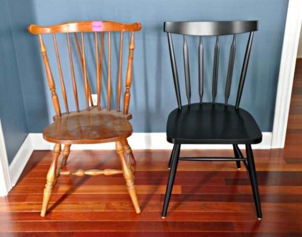 Переделка старой мебели своими руками: до и после (65 фото)
