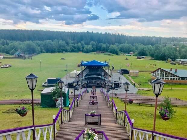 Первый экологичный фестиваль «Open air Эктоника» стартовал в Удмуртии