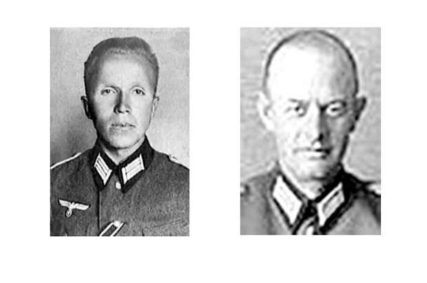 Николай Кузнецов в немецкой форме и генерал Макс Ильген.