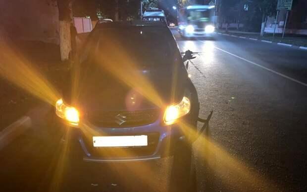 Молодой рязанец попал под машину, перебегая дорогу не по переходу