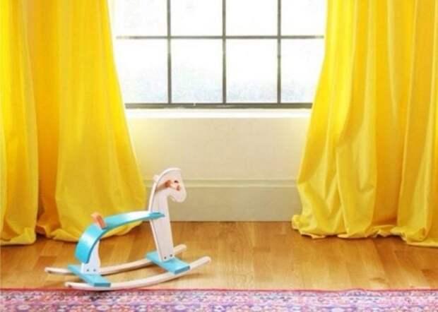 Как покрасить шторы своими руками: нет ничего проще