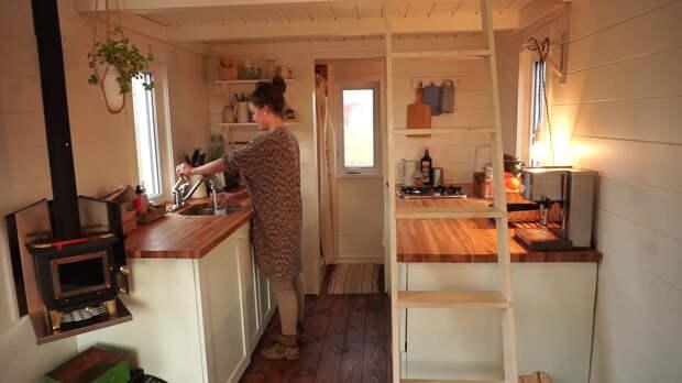 кухня в крошечном доме