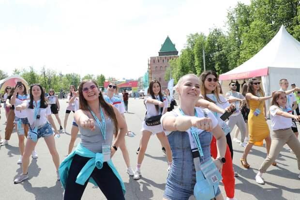 Скрепили вузы: самая творческая молодёжь совсей России съехалась вНижний Новгород