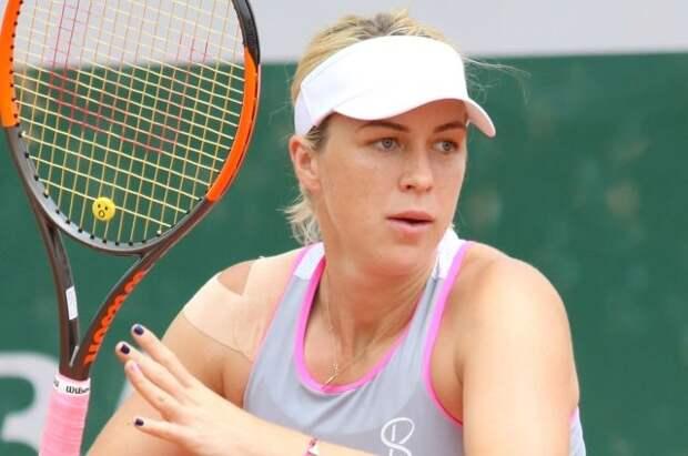 Российская теннисистка Павлюченкова впервые вышла в финал Roland Garros