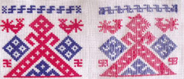 Изнаночная сторона в вышивке крестом