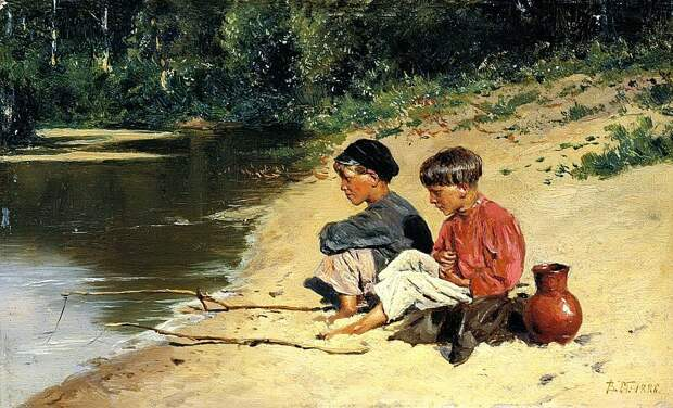 Владимир Маковский. «Рыбачки»