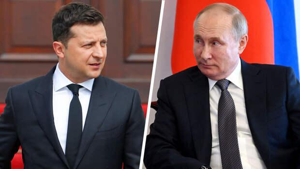 """Песков назвал """"камень преткновения"""" встречи Путина и Зеленского"""
