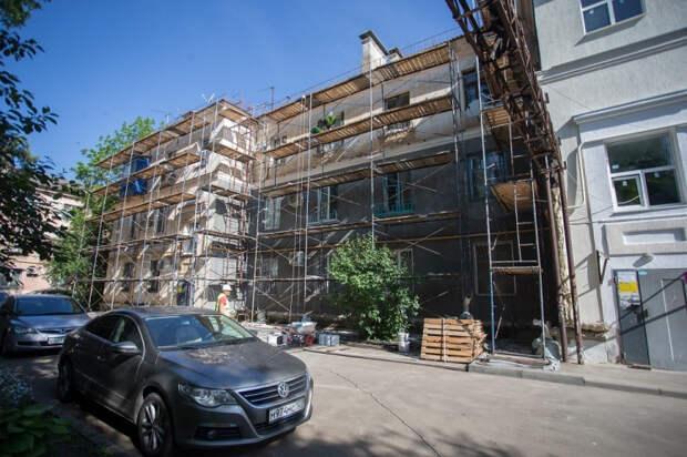 В Краснодаре в 2020 году отремонтировали 121 многоквартирный дом