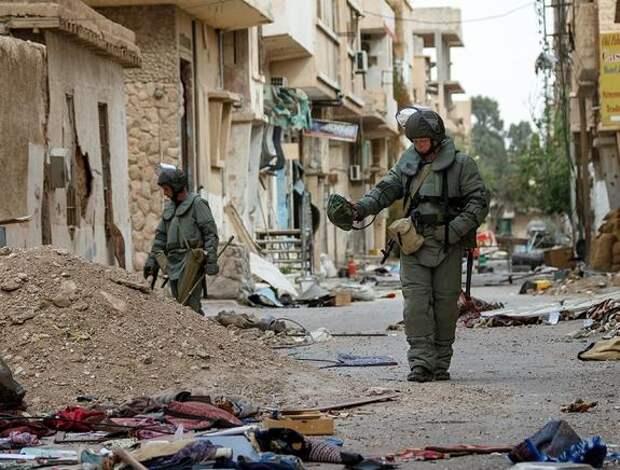 Полковник Калинов рассказал об уничтоженной в сирийской пустыне пещере с командным пунктом боевиков
