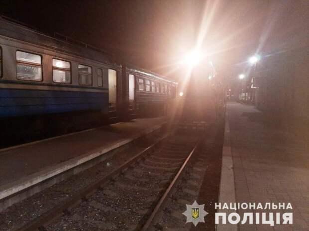 В Дергачах поезд сбил мужчину