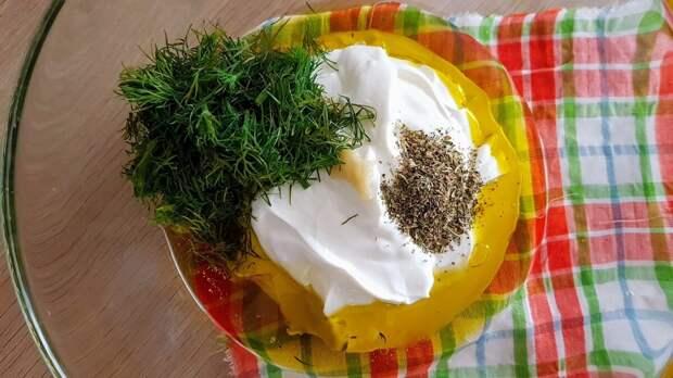 Дзадзики - греческий соус к шашлыку, лепешкам и жареным овощам