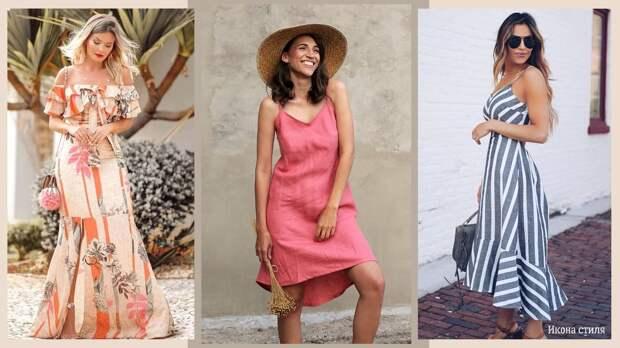 Льняной сарафан: 13 стильных идей для жаркого лета