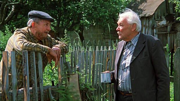 """- Батя, скажи, как прожить, чтобы не притомиться? - Пить меньше надо. """"Белые росы"""""""