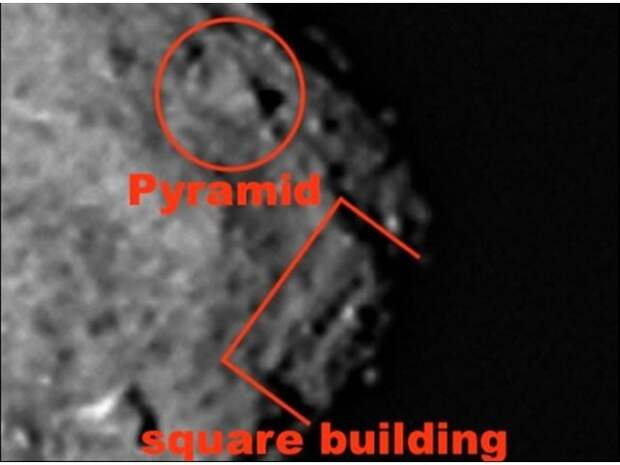 NASA скрывает от мира пирамиду, найденную на астероиде