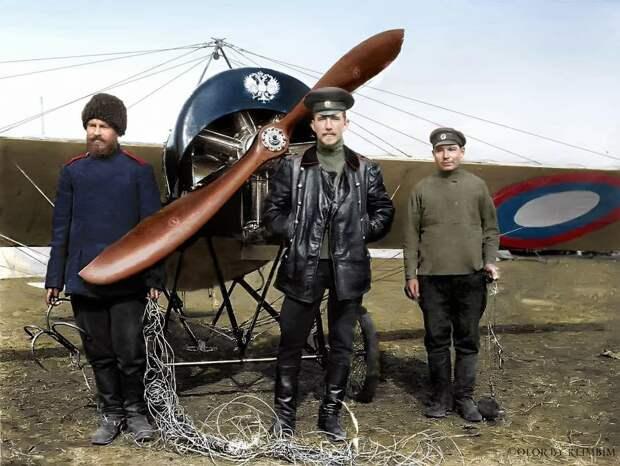 Лучший русский ас–истребитель в Первой мировой войне