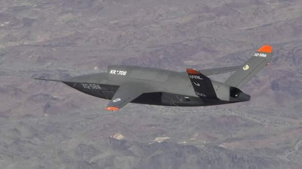 XQ-58A Valkyrie: в воздухе — роботы!