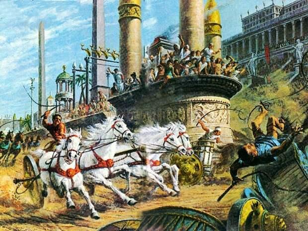 Бунты в Константинополе.
