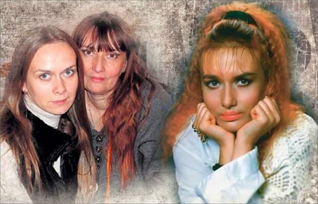 Коллаж автора - Лиза Мялик с дочкой