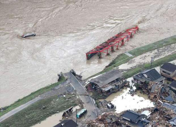 Наводнение в Японии 2020