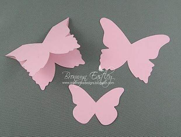 Открытка-бабочка