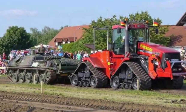 Танк против трактора: военная мощь или техника колхозника