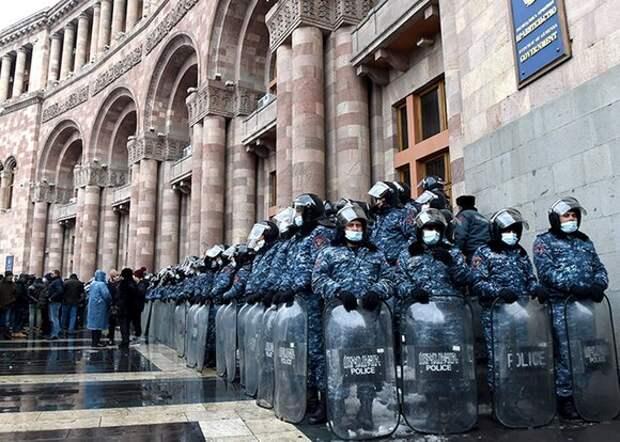 В Ереване завершилась акция протеста