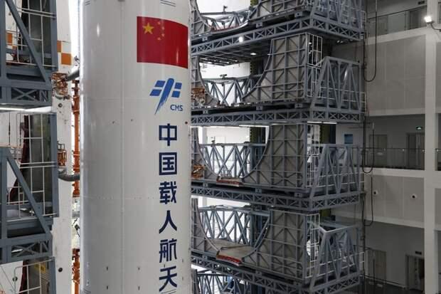 Определена опасность неуправляемой китайской ракеты