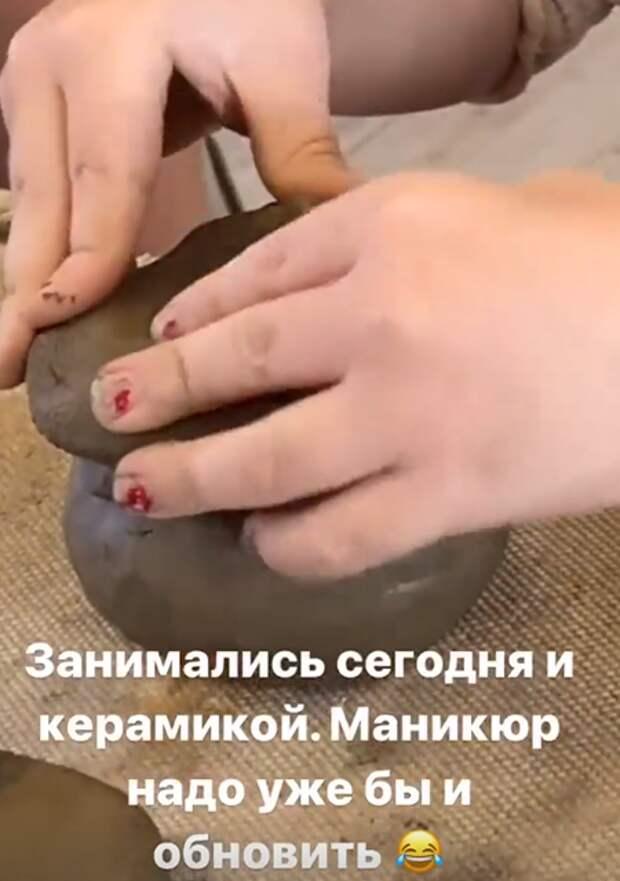 Бывшие супруги Дмитрий Исхаков и Полина Гагарина провели вместе день ради дочери
