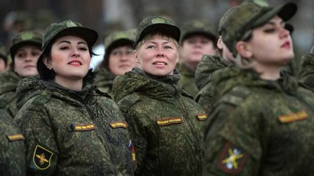 Служат ли крымские женщины в армии
