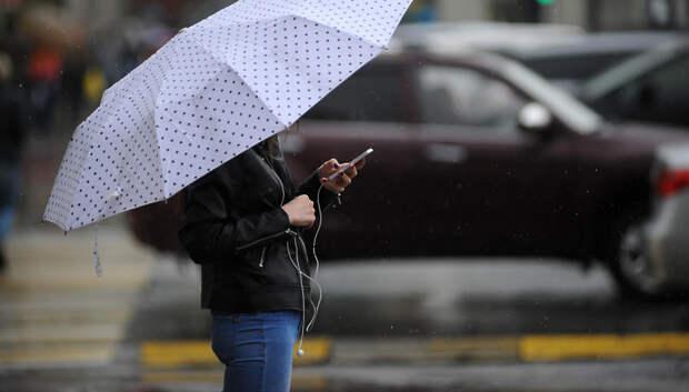 Дождь и облачная погода ожидаются в Подольске в субботу