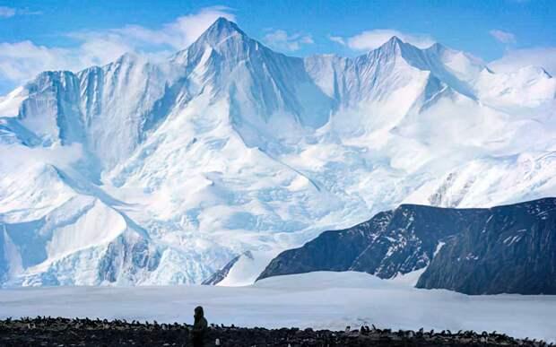 Самые высокие вершины в Антарктиде