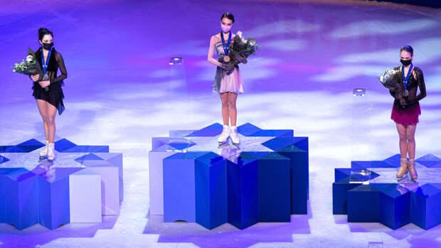 Щербакова оценила победу в короткой программе